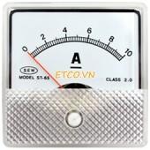 Đồng hồ đo điện gắn tủ đa năng Sew ST-65 ( 2% DC, 2.5% AC, 2.0% tần số)