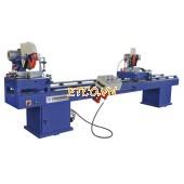 Máy cắt Nhôm và PVC 2 đầu SJZ2-350x3500