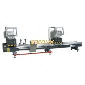 Máy cắt nhôm hai đầu tích hợp cắt ke ZJB1-450x3700A (Chiều dài cắt 3700mm, đường kính lưỡi 450mm)