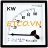 Đồng hồ đo công suất gắn tủ AC/3 pha Sew ST-72 KW ( 1.5%)