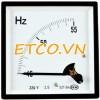 Đồng hồ đo tần số gắn tủ AC/ 3 pha Sew ST-72 Hz ( 1.5%)