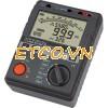 Đồng hồ đo điện trở cách điện, (Mêgôm mét), KYORITSU 3126, K3126 (5kV/1TΩ)