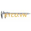 Thước cặp cơ khí Mitutoyo 530-118, 0-200mm/0.03