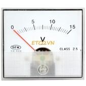 Đồng hồ đo điện gắn tủ đa năng Sew ST-70P ( 2% DC, 2.5% AC, 2.0% tần số)
