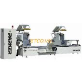 Máy cắt nhôm 2 đầu CNC/LJZ2-CNC-G500×4200